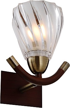 Фото товара 407-01-51ABW antique brass + walnut N-Light