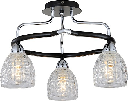 Фото товара 412-03-63CDW chrome + dark wengue N-Light
