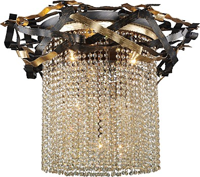 Фото товара 555-06-03 gold + black + shampagne crystal N-Light