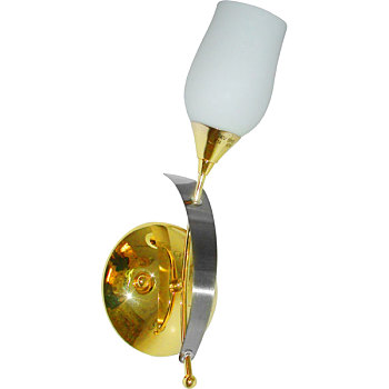 Фото товара BX-0808/1A french gold + satin chrome N-Light