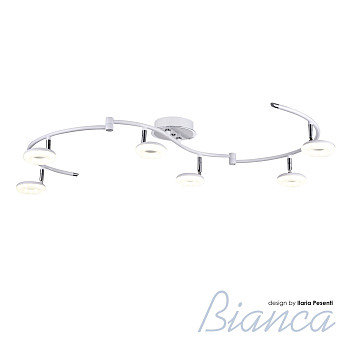 Фото товара 390/6PF-LEDWhitechrome IdLamp BIANCA