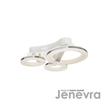 Фото товара 397/3PF-LEDWhitechrome IdLamp JENEVRA
