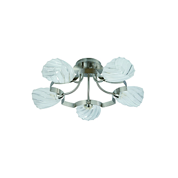 Фото товара 601/5PF-MOONWhitechrome IdLamp MARTHA