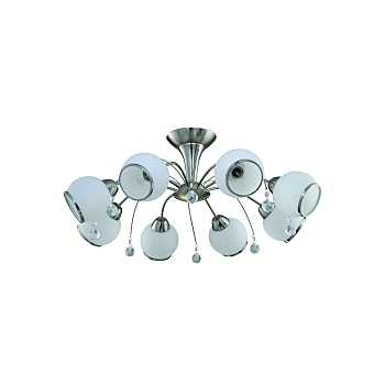 Фото товара 831/8PF-Whitechrome IdLamp CHIERA