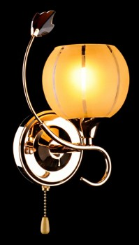 Фото товара 3457/1H золото/коричневый Eurosvet LIBRE