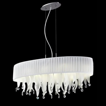Фото товара D1681-8WH Crystal Lamp